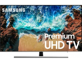 "$700 off Samsung 75"" LED NU8000 2160p HDR Smart 4K UHD TV"