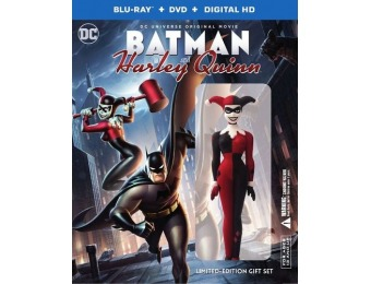 67% off Batman and Harley Quinn [Deluxe Edition] Blu-ray