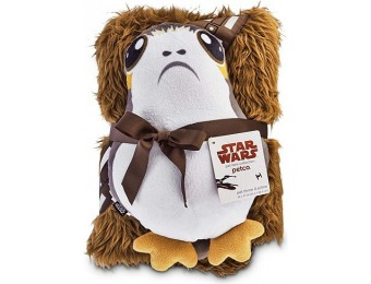 75% off Star Wars Chewbacca Throw and Porg Pillow for Dogs