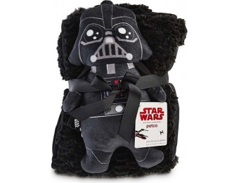 75% off Star Wars Darth Vader Throw and Pillow for Dogs