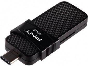 47% off PNY 128GB Duo Link Type-C Drive, 130MB/s
