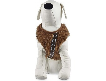 75% off Star Wars Chewie Dog Harness