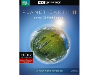 58% off Planet Earth II (4K Ultra HD Blu-ray)