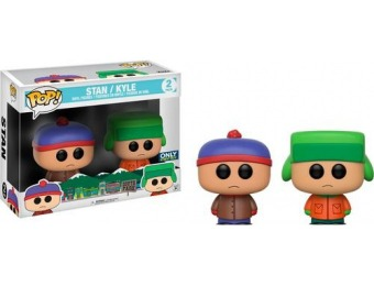 50% off Funko POP! South Park: Stan and Kyle