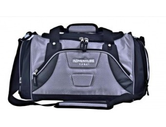 "66% off TPRC 28"" Silver Multi-Pocket Sport Duffel"