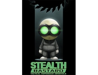 87% off Stealth Bastard Deluxe [Online Game Code]