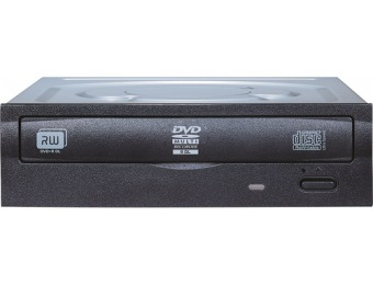 55% off LiteOn 24x Internal Double-Layer DVD±RW/CD-RW Drive