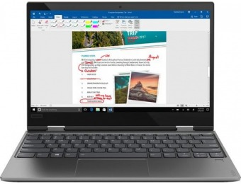 "$150 off Lenovo Yoga 720 2-in-1 12.5"" Touch-Screen Laptop"