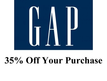 Gap Friends Event - Save 35% off Your Purchase