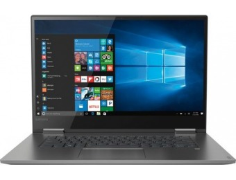 "$180 off Lenovo Yoga 730 15.6"" Touch-Screen 2-in-1 - Core i5, SSD"