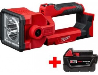 $99 off Milwaukee M18 18V Li-Ion Cordless 1250-Lumen Search Light