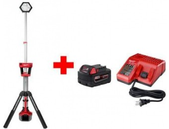 $149 off Milwaukee M18 Li-Ion Cordless Rocket Tower Light