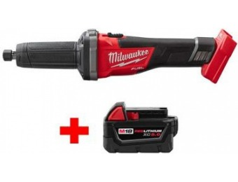 "$139 off Milwaukee M18 Fuel Li-Ion Brushless 1/4"" Die Grinder"