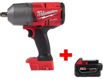 "$139 off Milwaukee M18 Fuel Li-Ion Brushless 1/2"" Impact Wrench"