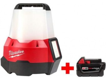 $99 off Milwaukee M18 18V 2200-Lumen Radius LED Site Light