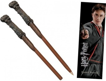 56% off Harry Potter Wand Pen and Bookmark