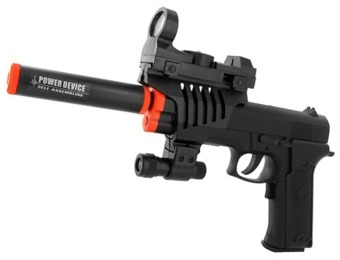70% off Full Auto Tactical .45 Style Pistol Airsoft Gun