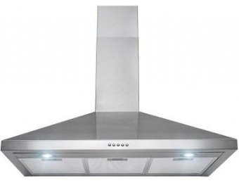 "$160 off AKDY 36"" Convertible Wall Mount Range Hood in Stainless Steel"