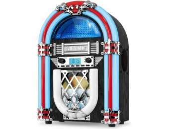 $36 off Victrola Nostalgic Jukebox w/ Bluetooth and CD Player