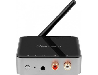 $30 off Aluratek Universal Bluetooth Audio Receiver and Transmitter