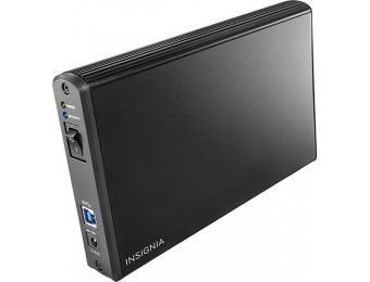 "$25 off Insignia 3.5"" SATA Hard Drive Enclosure"