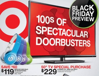 Preview the Target Black Friday Sale Ad - 100s of Doorbuster Deals