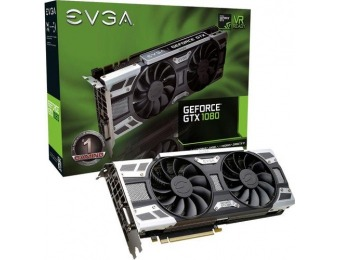 $300 off EVGA NVIDIA GeForce GTX 1080 SC Gaming 8GB GDDR5X Card
