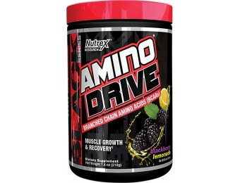 50% off Nutrex Research Amino Drive Blackberry Lemonade