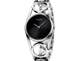 77% off Calvin Klein Women's Round Watch