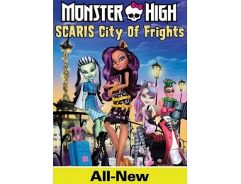 67% off Monster High: Scaris City of Frights (DVD)
