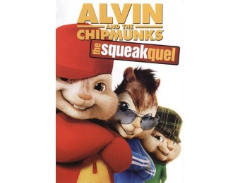 62% off Alvin and the Chipmunks: The Squeakquel (DVD)