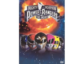 44% off Mighty Morphin Power Rangers: The Movie (DVD)