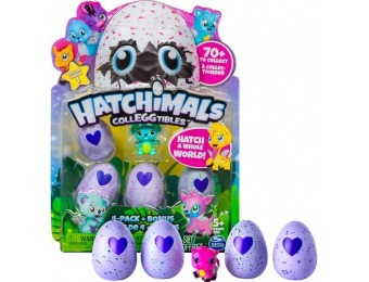 40% off Hatchimal- Colleggtibles Egg (4-Pack)