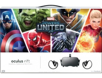 $50 off Oculus Marvel Powers United VR Rift + Touch - PC
