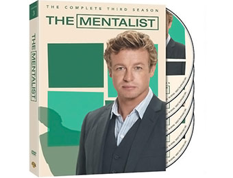 71% off The Mentalist: Complete Season 3 DVD Set