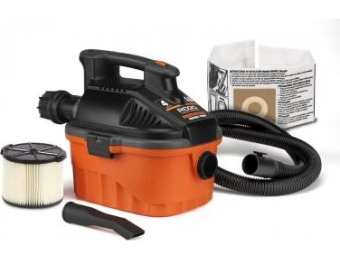 38% off RIDGID 4 Gal. Portable Wet/Dry Vac