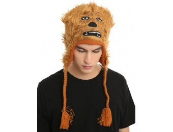 74% off Star Wars Chewbacca Furry Face Beanie
