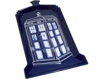 65% off Doctor Who TARDIS Ceramic Serving Platter
