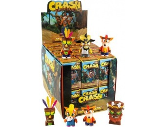 30% off Kidrobot Crash Bandicoot Mini Vinyl Figures - Blind Box