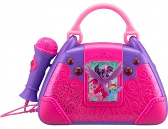 50% off eKids My Little Pony Portable Karaoke System