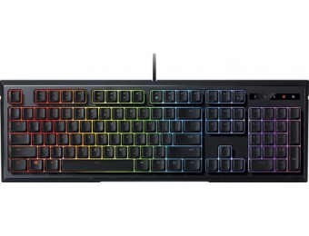 $20 off Razer Ornata Chroma RGB Wired Gaming Membrane Keyboard