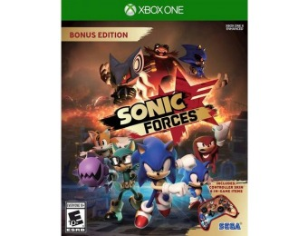 25% off Sonic Forces Bonus Edition - Xbox One