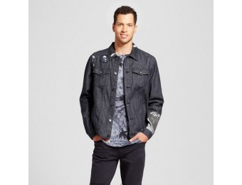 70% off Jackson Men's Patched Trucker Jean Jacket