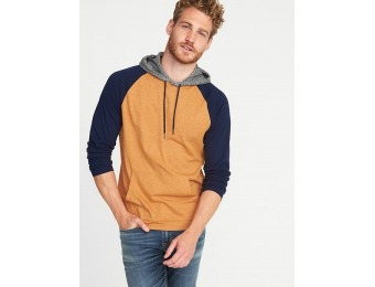 70% off Old Navy Men's Soft-Washed Color-Block Hoodie