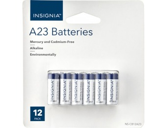 60% off Insignia A23 Battery (12-pack)