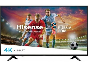 "$150 off Hisense 55"" LED H6 Series 2160p Smart HDR 4K UHD TV"