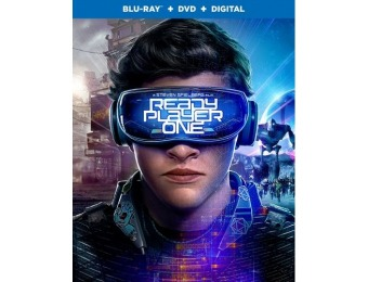 83% off Ready Player One (Blu-ray/DVD)