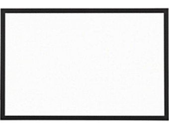 "77% off Foray Magnetic Dry-Erase White Board, Steel, 24"" x 36"""