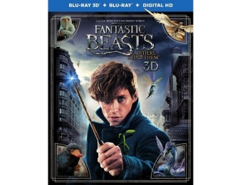 50% off Fantastic Beasts and Where to Find Them (Blu-ray 3D/Blu-ray)