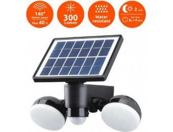 40% off Link2Home Super Bright Motion Activated LED Solar Light